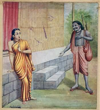 Rawana Approaches Sita In The Garb Of Mendicanthttp://www.findmessages.com/the-significance-of-lakshman-rekha-in-ramayana