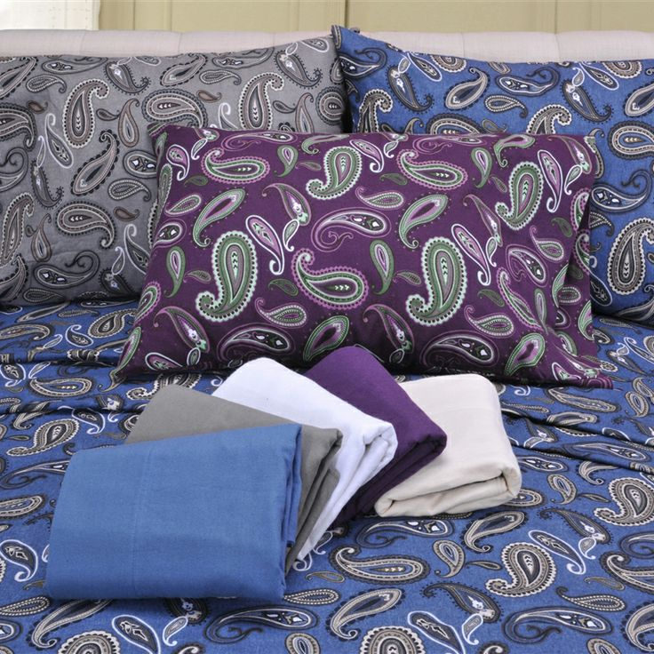 Impressions Flannel Twin XL Sheet Set | Free Shipping