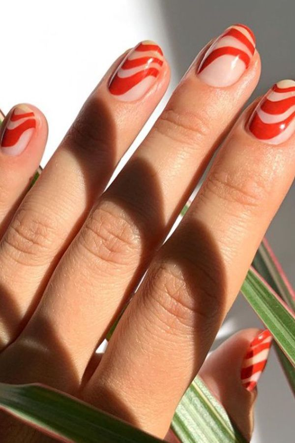 10 Easy Red Nail Art Ideas That Ll Upgrade Your Classic Manicure In 2021 Stylish Nails Red Nails Swag Nails