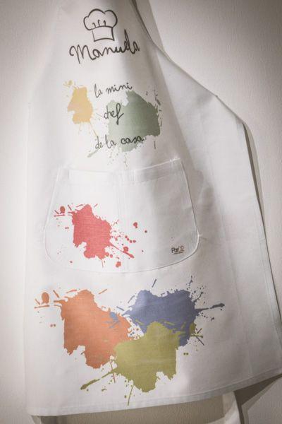 Minidelantal super cuqui para los nen@s, con mucho color y manchas propias de la cocina , esperamos que lo disfruten todos vuestros mini chefs!!!  www.pard2design.com ParD2 Design