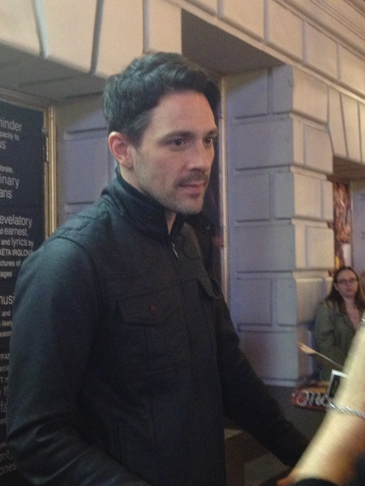 My newest crush... the talented, humble and sweet Steve Kazee #once