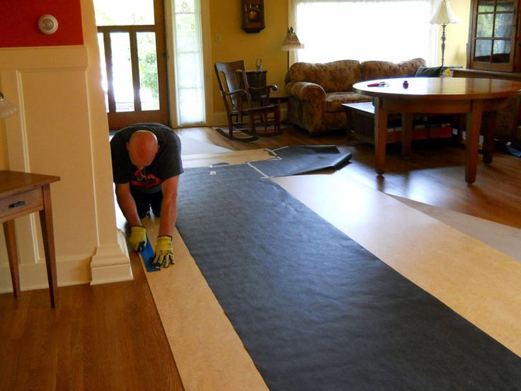 105 best floor images on pinterest bamboo floor engineered marmoleum laying is slightly different from laying other most popular floor coating how to install marmoleum with your own hands in a correct way solutioingenieria Choice Image