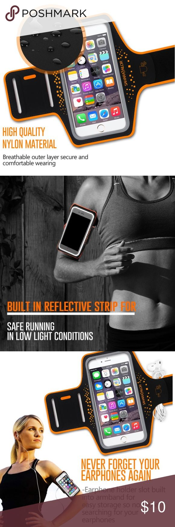"""💪🏼Fitness- Sports Armband High quality sweat-proof & stretch resistant neoprene material. Special reflective strip keeps you noticeable at night. Headphone cutouts allows you to fully enjoy the music or pick up the call while walking or running. Touch screen compatible. Supports a wide range of arm girth from 8"""" to 15"""". Lifetime Warranty. Tagged for exposure ✅Great deal!✅ Save with bundle discounts💰 I also offer customized bundles🛍  Interested? Leave a comment below 👇🏼…"""