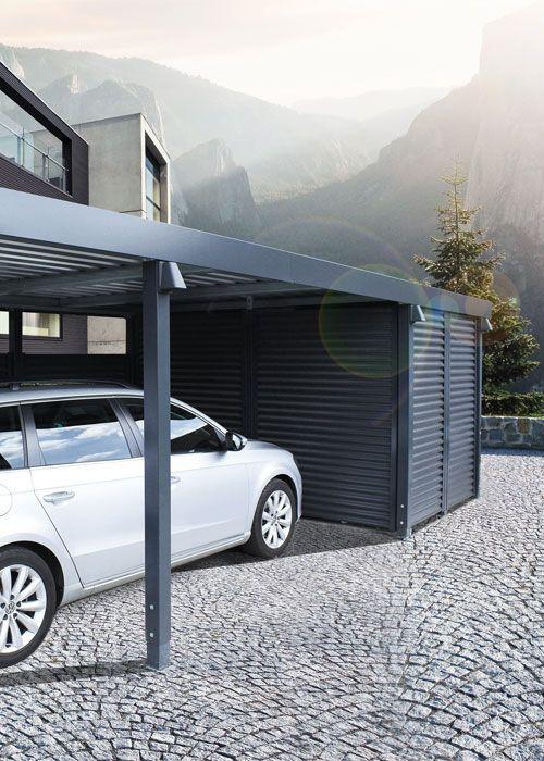 Carport von Siebau aus Stahl. Carport Übersicht, Carport Design und Carport Technik