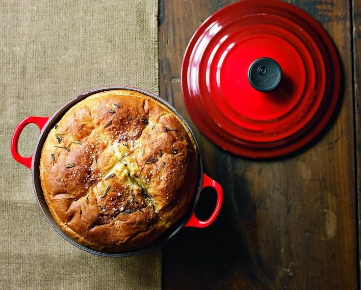 Dutch Oven #bread: No Knead Bread, Rosemary Dutch, Dutch Ovens Breads ...
