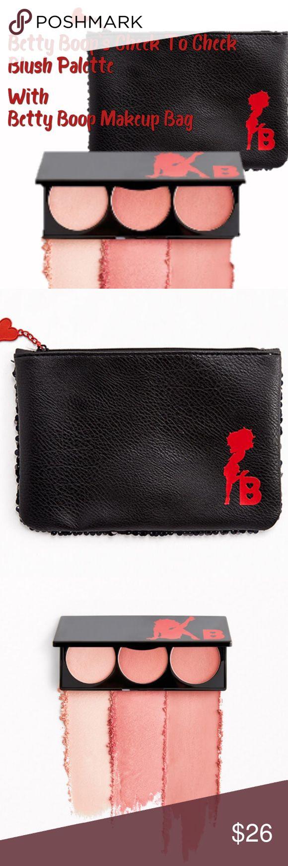 ️ Ipsy's Betty Boop Blush and Makeup Bag Set Makeup bag