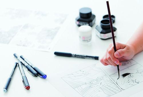 Drawing Materials used by Manga Artists #Manga #Anime #Mangaka #Drawing