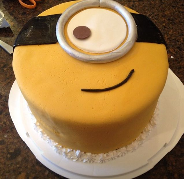 Despicable me birthday cake!! :D