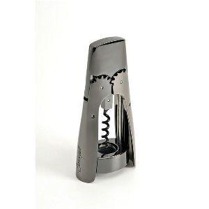 SCREWPULL Tire bouchon à levier Nickel Noir - Premium WL300