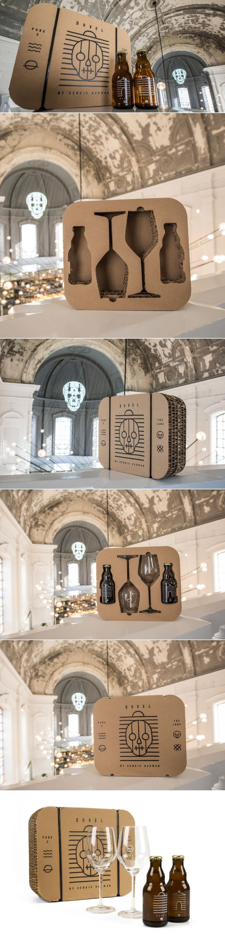 The Jane - Pure C Gift Pack with Duvel — The Dieline | Packaging & Branding Design & Innovation News
