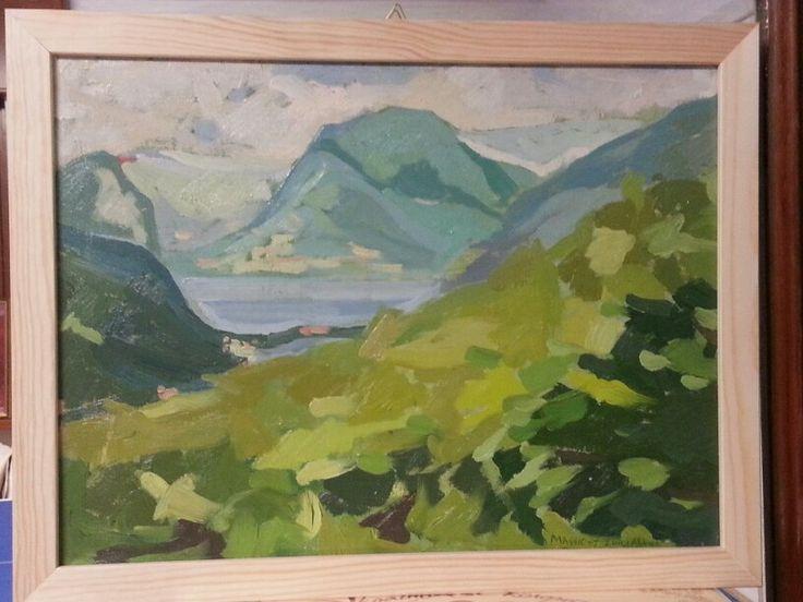 Il Lago di Lugano da Ca' Del Monte - Luigi Abbiati
