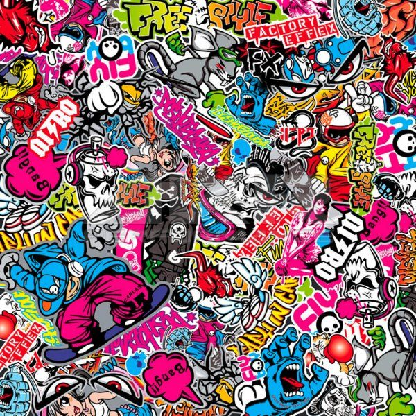 Pin By Maniere Karoline On Sticker Bomb Collage In 2020 Sticker Bomb Wallpaper Graffiti Designs Graffiti