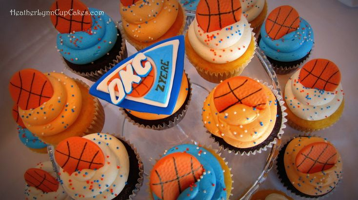 17 Best Ideas About Basketball Cupcakes On Pinterest