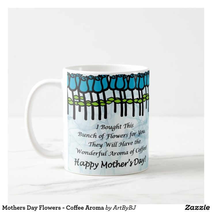 Mothers Day Flowers - Coffee Aroma