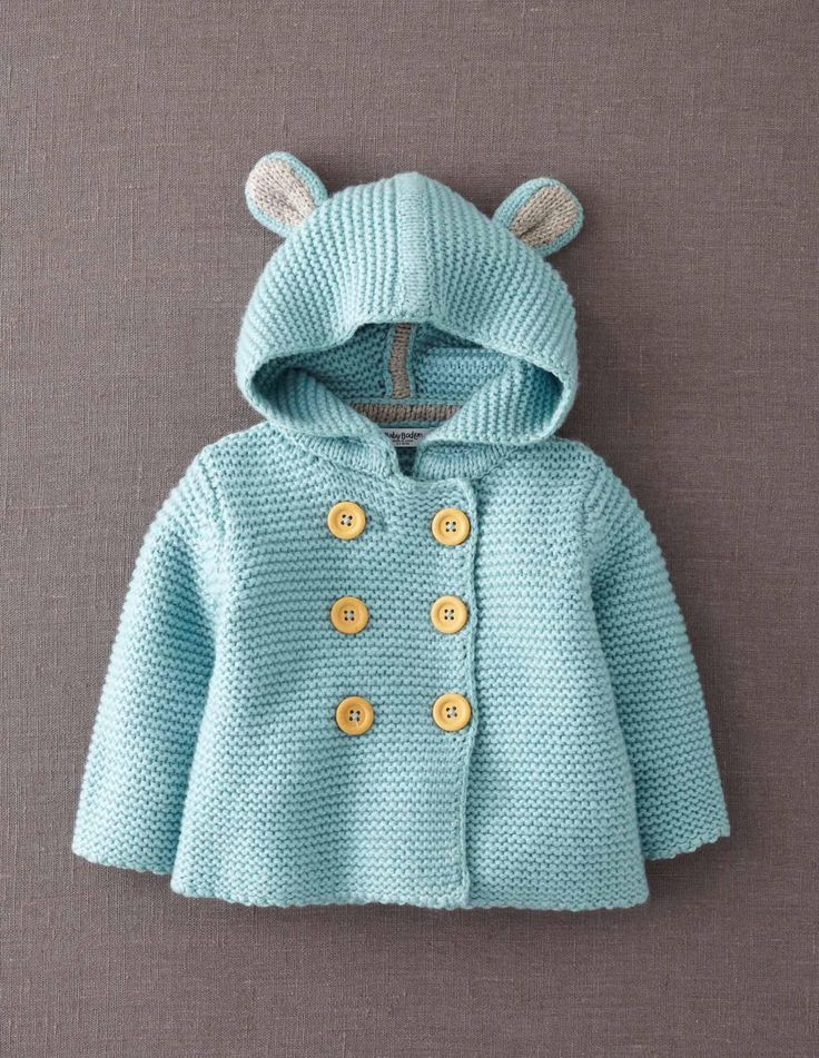 baby bear cardigan sweater