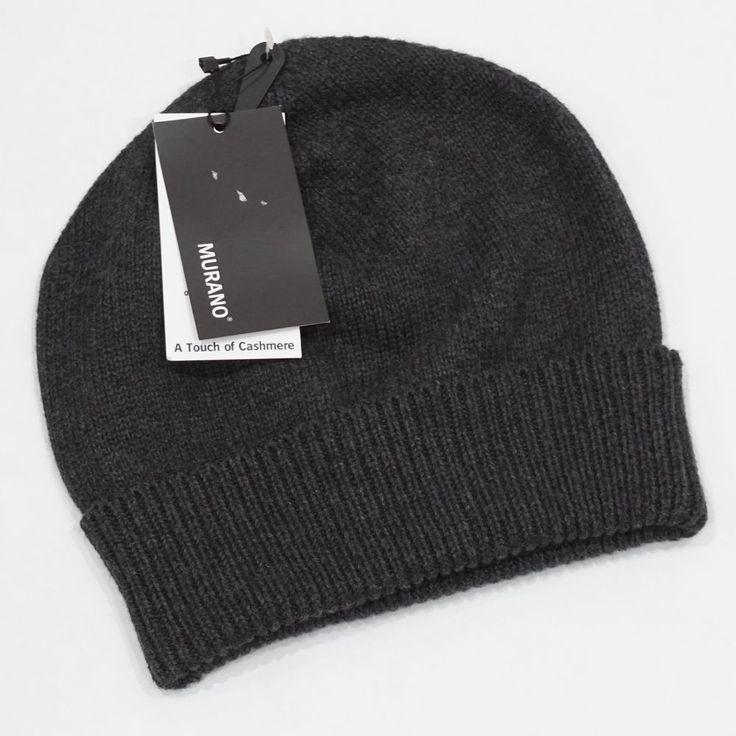 NWT Murano Men's Gray Wooly Knit Winter Beanie Hat One Size #Murano #Beanie