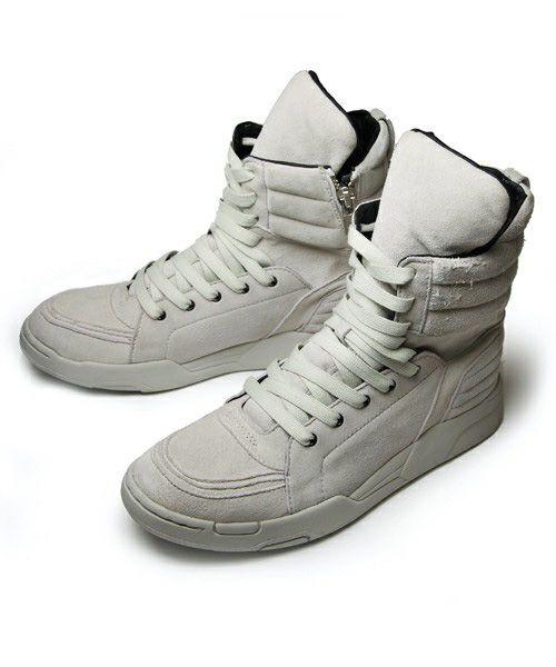 Diet Butcher Slim Skin White Paint Splatter Sock Sneakers