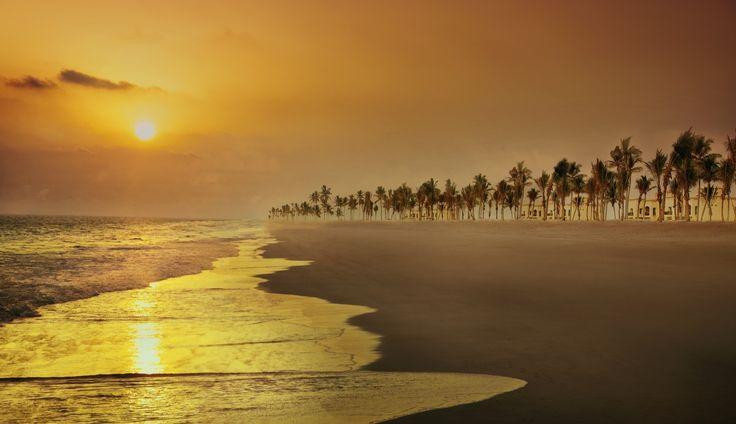 Beautiful sunset captured at Salalah Rotana Resort. #Rotana #RotanaHotels