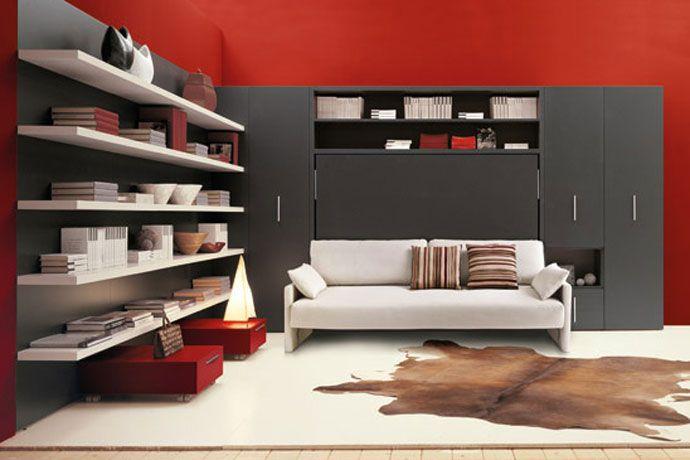 Matrimoniale Schrankbett Plus Tisch | Möbel | Pinterest | Schrankbetten,  Tisch Und Raum