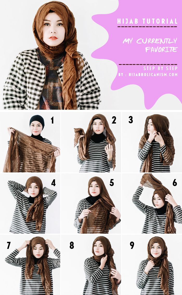 1000 Ideas About Square Hijab Tutorial On Pinterest Hijab