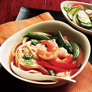 Spicy Shrimp Noodle Bowl Recipe