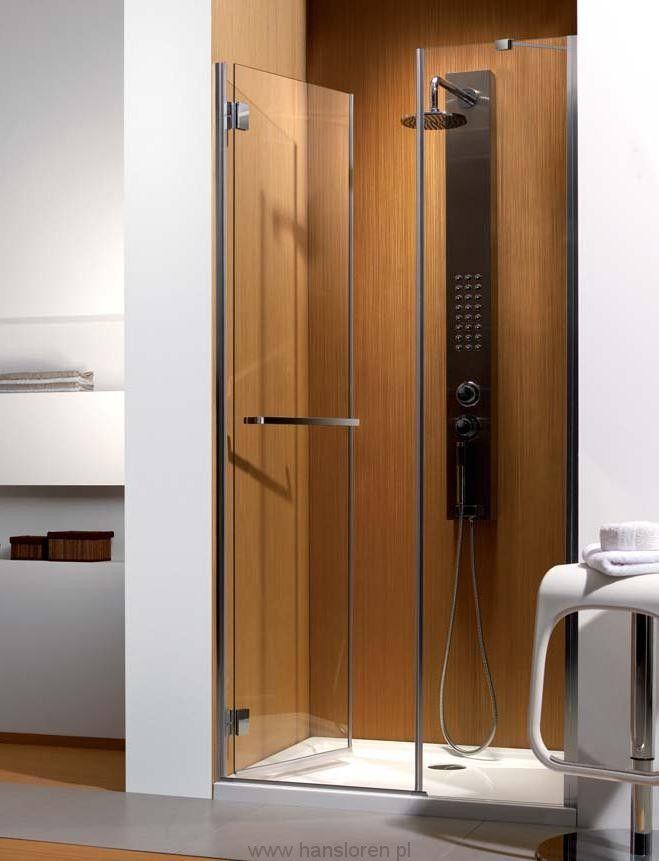 Carena DWJ Radaway drzwi wnękowe 993-1005x1950 chrom szkło przejrzyste lewe - 34322-01-01NL http://www.hansloren.pl/Kabiny-RADAWAY/245