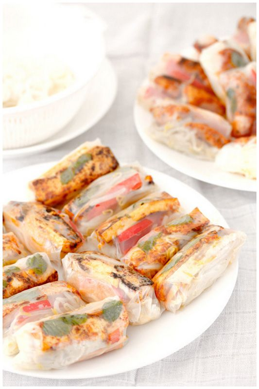Foodagraphy. By Chelle.: Vietnamese rice paper rolls