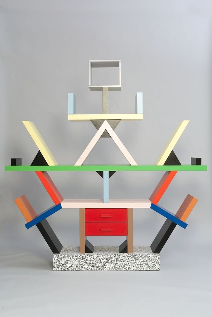 Whether you think of this as good news or terrible news, in the world of design, the 80s are back in a big way. So we thought this would be a good time to do a brief dip into the history of the Memphis Design Group, an Italian design and architecture collective whose wild, colorful, postmodern style defined the look of the 80s.