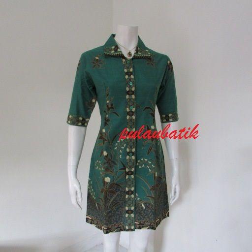 Macam Model Baju Batik: 52 Best Images About Model Dress Batik Modern Terbaru