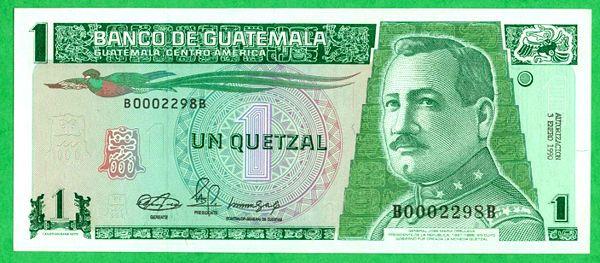 quetzal dinero | Banknotes of the Banco de Guatemala since 1949