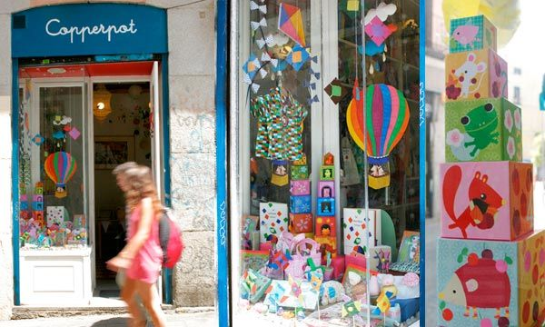 Copperpot, tienda para niños en Madrid