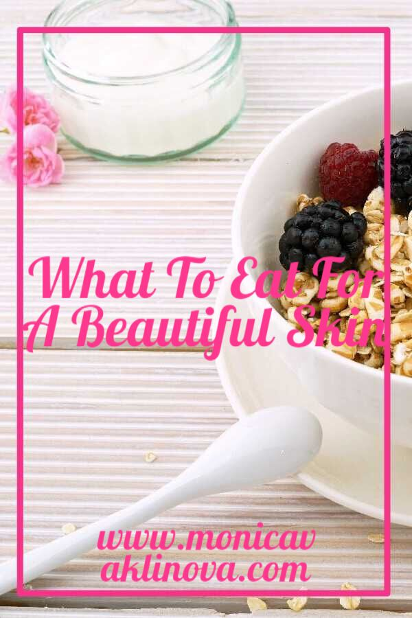 Do you know what to eat for a healthy skin? Read this post to find out which are the best foods for a beautiful skin and what else to do to achieve this.