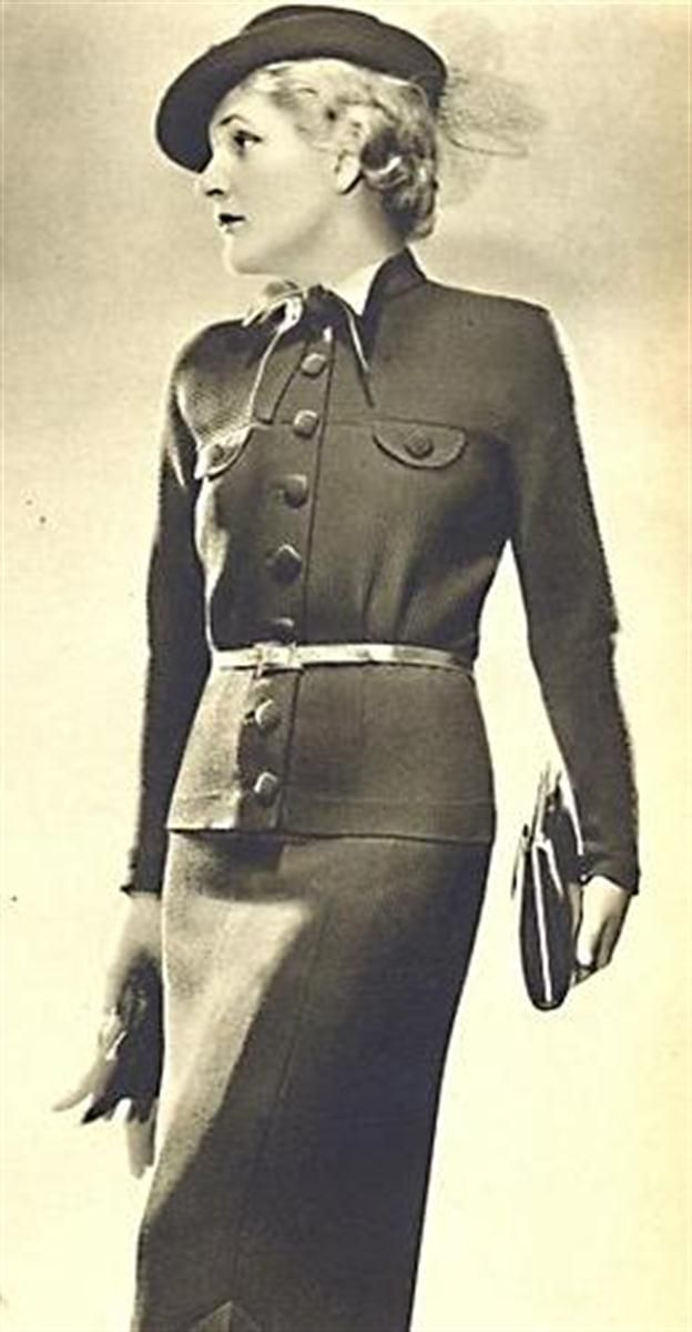 Výsledek obrázku pro móda 30. léta | Fashion, Fashion dresses, Dresses