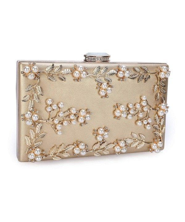 86d5442ff05f Women's Bags, Clutches & Evening Bags, Women's Noble Pearl Beaded ...