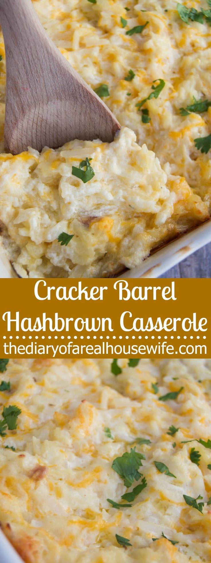 Cracker Barrel Hashbrown Casserole. This is a MUST TRY recipe. One of my all time favorites.