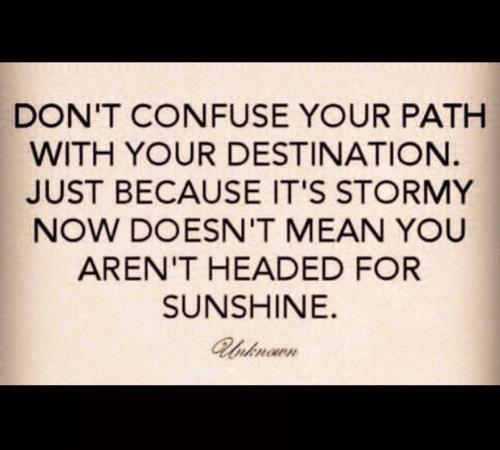 path not destination