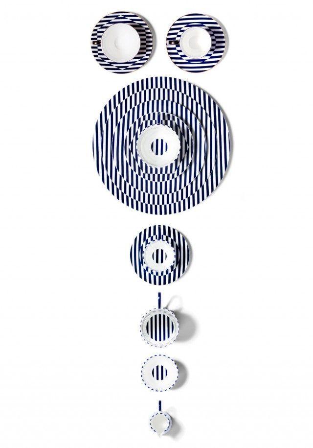 Warp and Reason, c'est le nom de cette superbe collection d'objets de vaisselle de Richard Brendon pour China Collection. Des patterns d'une grande beauté et d'une grande cohérence, qui rendent hommag