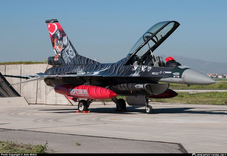88-0014 Turkish Air Force General Dynamics F-16DG Fighting Falcon