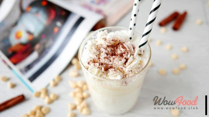 Белый шоколад со взбитыми сливками