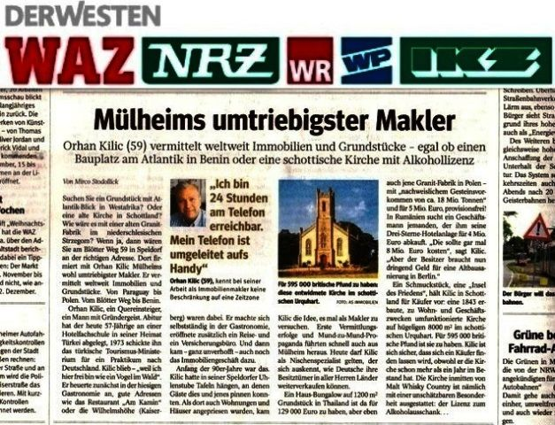 """Guten Tag.,  wir suchen dringend *HÄUSER *WOHNUNGEN *GRUNDSTÜCKE in 45468 Mülheim an der Ruhr und Umgebung! herzlichen Dank und schöne Grüße!. Herr Orhan Kilic (Immobilienmakler-IHK) (genannt) """"Mülheims umtriebigster Immobilienmakler"""" http://www.as-makler.de/html/mulheims_umtriebigster_makler_.html"""