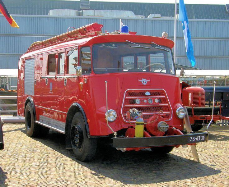 1965 - DAF 1600 brandweerauto