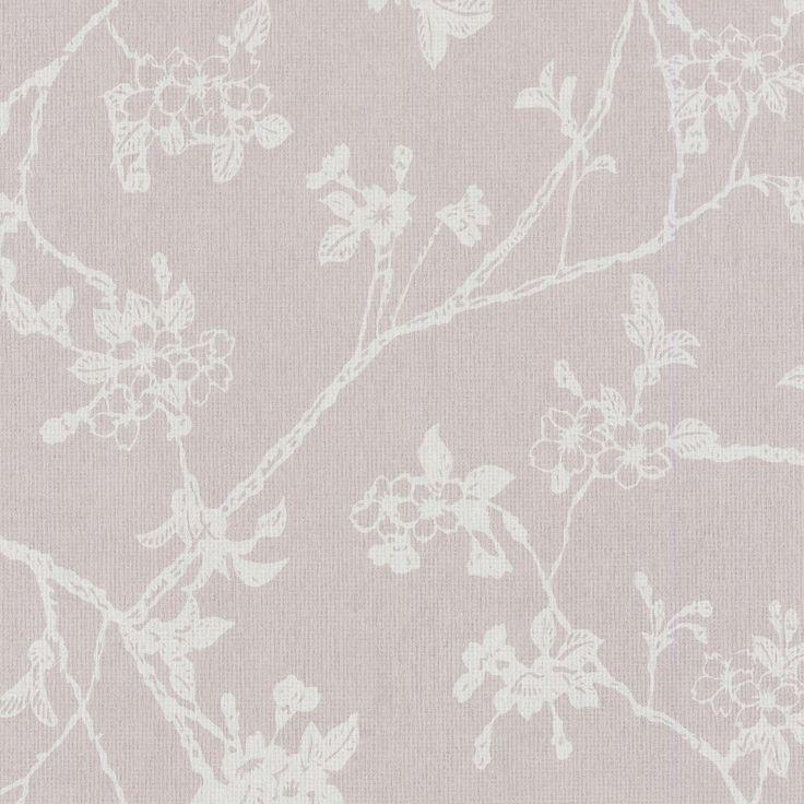 Voca chacran 46041 grijs bloemen behang behang pinterest bloemen - Deco toilet grijs ...