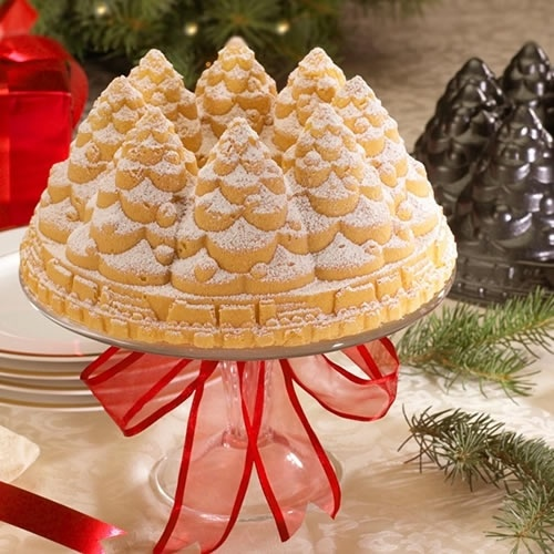 Christmas Tree Bundt Cake