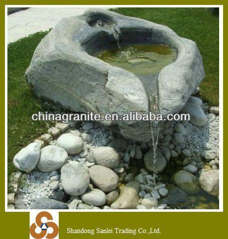 grijs graniet tuin fonteinen stenen olifant te koop