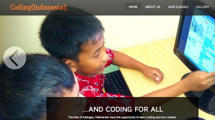 http://www.codingindonesia.com/ Learn to code in Indonesia for kids and adults