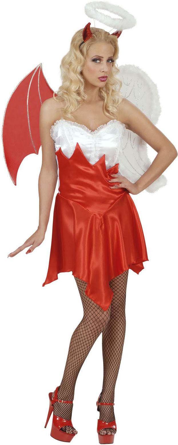 Costume angelo e demone donna Halloween e molti altri travestimenti Halloween da donna a partire da 9.99€. Diventa una vera vampira, scatena la fantasia con i nostri vestiti online per Halloween