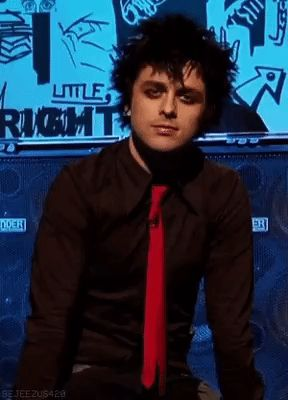 Billie Joe Armstrong - love his look, his make-up, his hair...