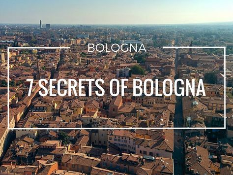 """Bologna is known as a famous lively student city and I think when you are from Europe the term """"Bologna Process"""" is also"""