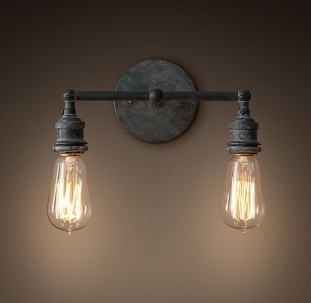 Best 25 edison bulbs ideas on pinterest vintage light bulbs rustic light bulbs and bulb Restoration bathroom lighting