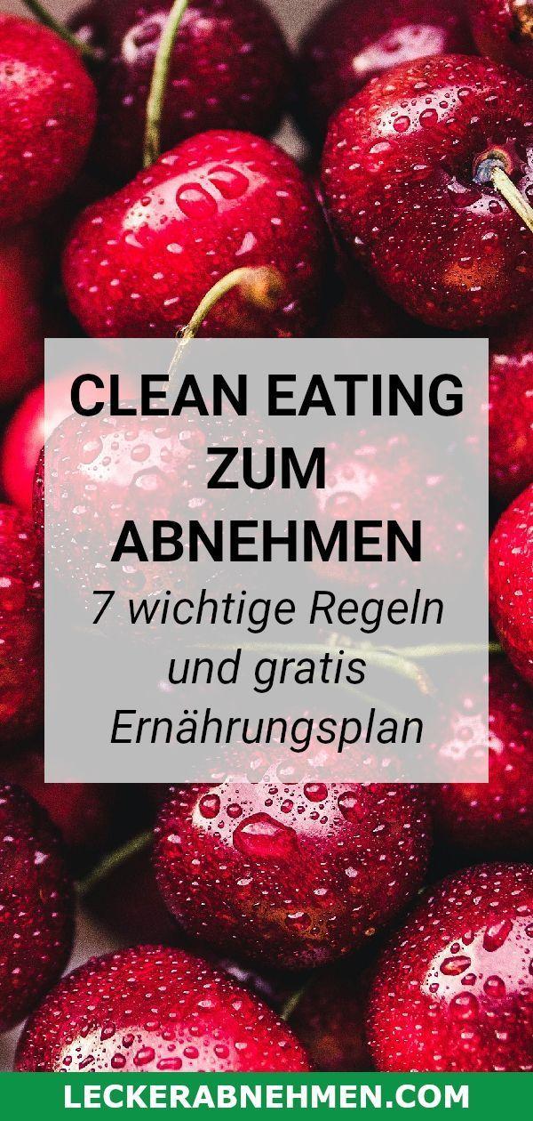 Clean Eating soll beim Abnehmen helfen und dem Men…